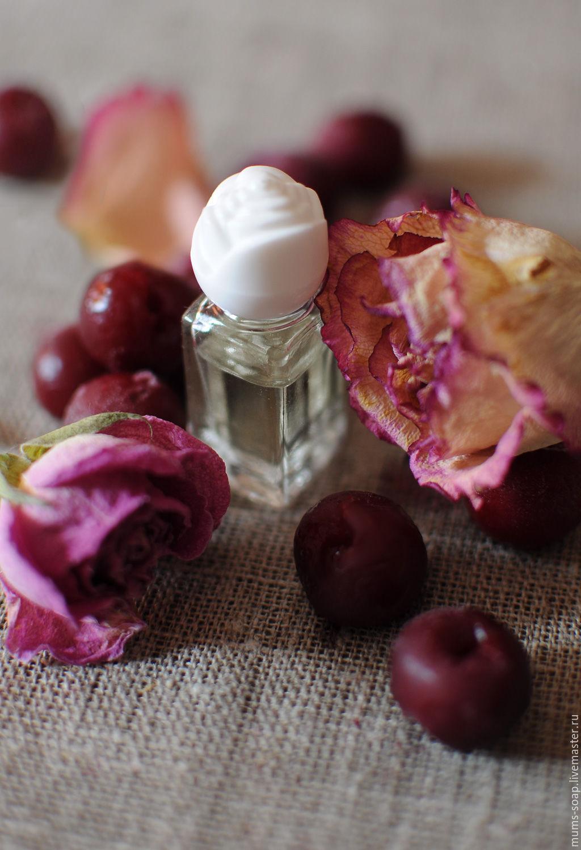 Духи Chateau de Cerise, авторские духи Вишневый зАмок, аромат вишни в духах, ручная работа Ярмарка Мастеров, духи на каждый день, парфюмерная вода