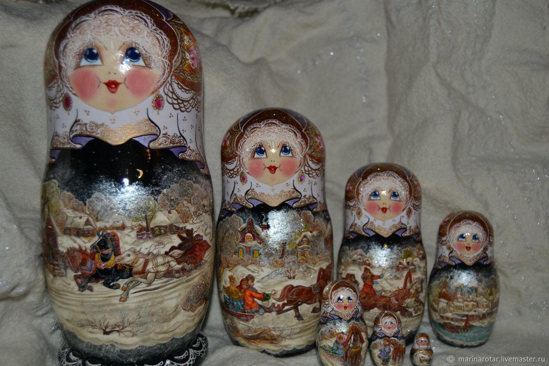Winter in the village, 7 seats, Dolls1, Sergiev Posad,  Фото №1