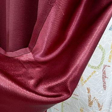 Текстиль ручной работы. Ярмарка Мастеров - ручная работа Шторы: готовые шторы. Handmade.