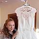 Одежда и аксессуары ручной работы. Вешалка для платья невесты/ плечики невеста. Магия Слова. Интернет-магазин Ярмарка Мастеров. Плечики