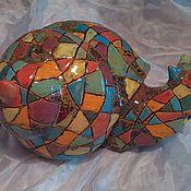 Для дома и интерьера handmade. Livemaster - original item Art ceramics.Animal sculpture