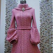 """Одежда ручной работы. Ярмарка Мастеров - ручная работа Авторское платье """"Зимний Розовый Кварц"""". Handmade."""