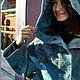 """Верхняя одежда ручной работы. Ярмарка Мастеров - ручная работа. Купить Куртка """"Весенняя рапсодия"""". Handmade. Морская волна, нуновойлок"""