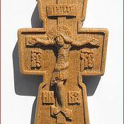 Украшения ручной работы. Ярмарка Мастеров - ручная работа Крест нательный. Handmade.