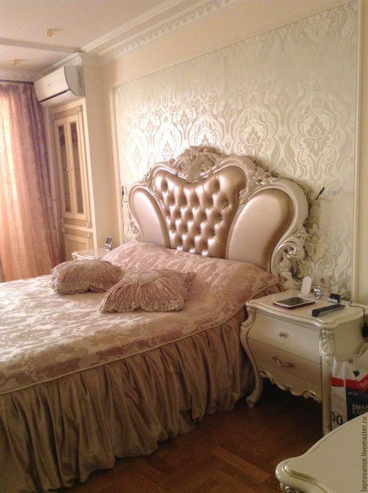 Текстиль, ковры ручной работы. Ярмарка Мастеров - ручная работа. Купить Покрывало Неаполь. Handmade. Бежевый, покрывало в спальню