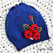 Работы для детей, ручной работы. Ярмарка Мастеров - ручная работа Хлопковые шапочки для Екатерины и Ольги. Handmade.