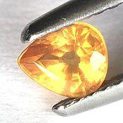 Материалы для творчества handmade. Livemaster - original item The yellow sapphire drop. Handmade.