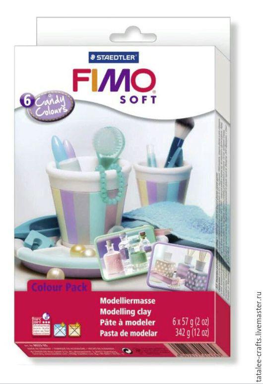 Для украшений ручной работы. Ярмарка Мастеров - ручная работа. Купить Конфетные цвета (8023 05) Fimo Soft. Handmade.