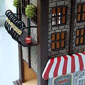Для дома и интерьера ручной работы. Ярмарка Мастеров - ручная работа Чайный домик с балконом №2. Handmade.