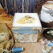 """Для дома и интерьера ручной работы. Ярмарка Мастеров - ручная работа Короб """"Утята"""". Handmade."""