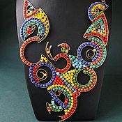 Украшения handmade. Livemaster - original item Necklace Kandinsky. Handmade.