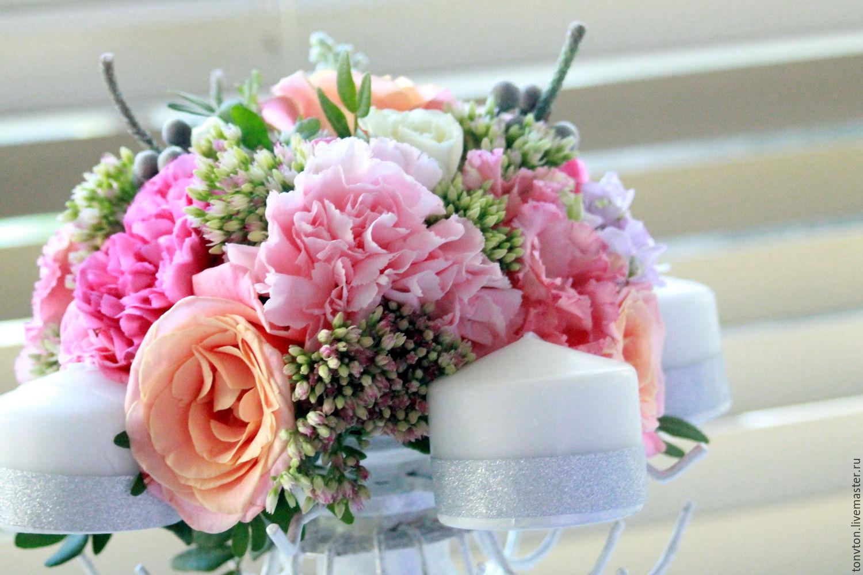 Заказать на свадьбу цветы