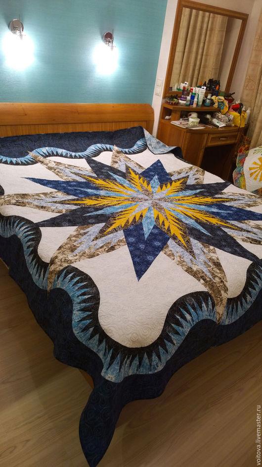 Текстиль, ковры ручной работы. Ярмарка Мастеров - ручная работа. Купить Пернатая  звезда. Handmade. Комбинированный, подарок, стежка