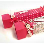 Сувениры и подарки ручной работы. Ярмарка Мастеров - ручная работа Коробочка-конфета, упаковка для подарка. Handmade.