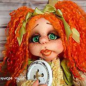 """Куклы и игрушки ручной работы. Ярмарка Мастеров - ручная работа Авторская кукла из капрона """"Пуговка"""". Handmade."""