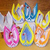 Дизайн ручной работы. Ярмарка Мастеров - ручная работа Лебедь, модульное оригами. Handmade.