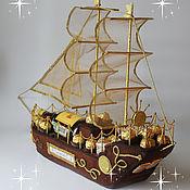Подарочный корабль своими руками для мужчин 35
