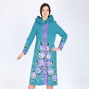 Одежда ручной работы. Ярмарка Мастеров - ручная работа Пальто П 56. Handmade.