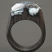 """Украшения ручной работы. Ярмарка Мастеров - ручная работа Деревянное кольцо """"Волшебная  принцесса 10"""", кольцо из дерева. Handmade."""