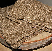 Для дома и интерьера handmade. Livemaster - original item A Mat of hemp and jute