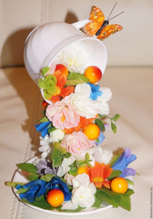 Кружки и чашки ручной работы. Ярмарка Мастеров - ручная работа. Купить чашка-проливайка. Handmade. Комбинированный, сувениры и подарки, чашка