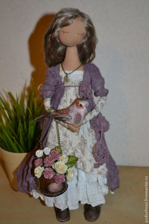 Коллекционные куклы ручной работы. Ярмарка Мастеров - ручная работа. Купить Доброе утро. Handmade. Нежность, подарок на любой случай
