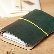 Канцелярские товары handmade. Livemaster - original item Notebook on the rings