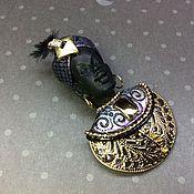 Украшения ручной работы. Ярмарка Мастеров - ручная работа Мавр в золотом. Handmade.