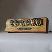 Для дома и интерьера handmade. Livemaster - original item Lamp clock