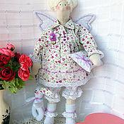 Куклы Тильда ручной работы. Ярмарка Мастеров - ручная работа Сонный ангел его любимая игрушка. Handmade.