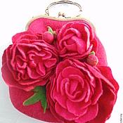 Classic Bag handmade. Livemaster - original item Bag Peonies. Handmade.