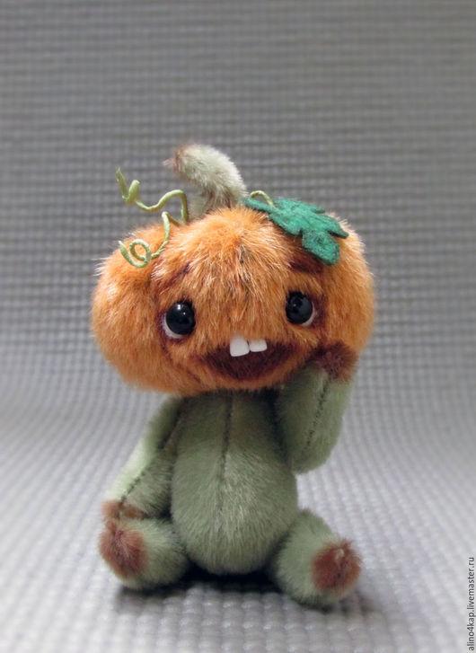Мишки Тедди ручной работы. Ярмарка Мастеров - ручная работа. Купить Тыковка. Handmade. Комбинированный, овощ, 5 шплинтовых соединений
