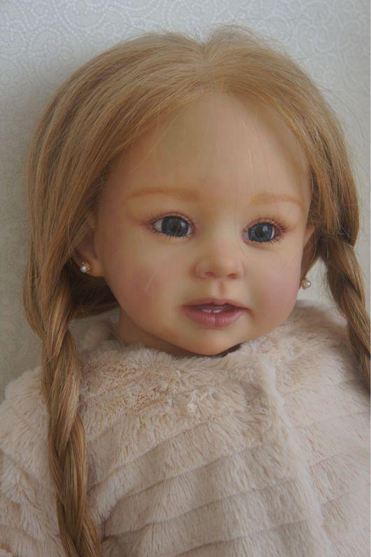 Куклы-младенцы и reborn ручной работы. Ярмарка Мастеров - ручная работа. Купить Куколка Стеша. Handmade. Подарок, подарок на новый год