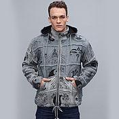 Одежда handmade. Livemaster - original item Warm winter jacket patchwork fleece lining. Handmade.