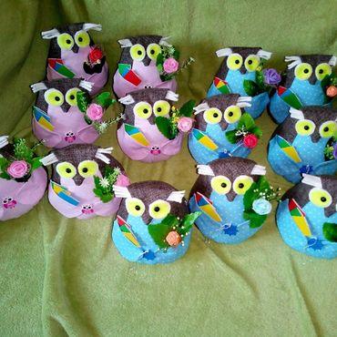 Куклы и игрушки ручной работы. Ярмарка Мастеров - ручная работа Сова для учителя и учеников. Handmade.
