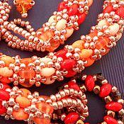 """Украшения ручной работы. Ярмарка Мастеров - ручная работа Комплект """"Персидский базар"""". Handmade."""