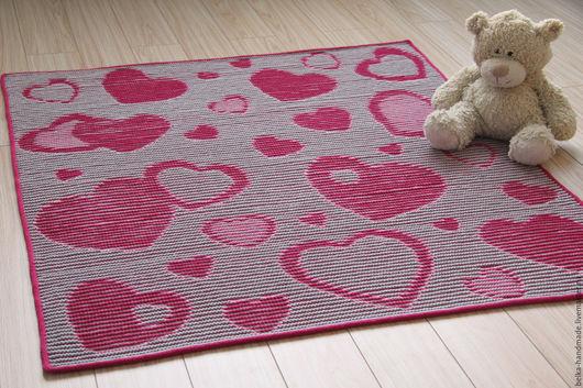 Пледы и одеяла ручной работы. Ярмарка Мастеров - ручная работа. Купить плед Heart blanket (описание). Handmade. Комбинированный