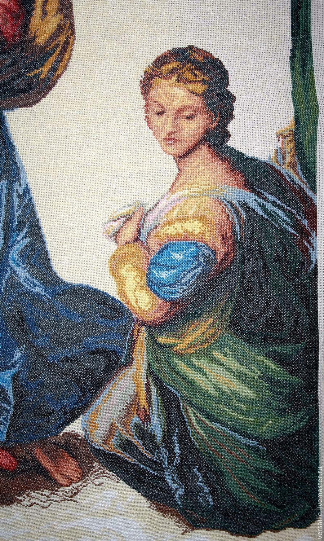 Вышивка с репродукции картины 881