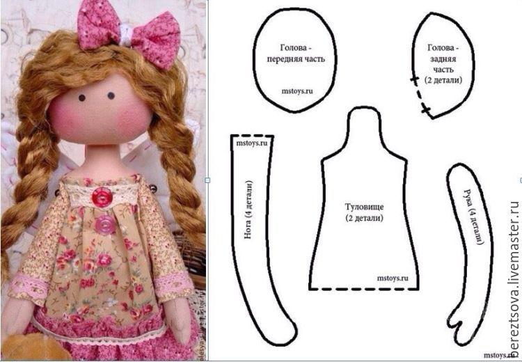Сшить кукол своими руками в домашних условиях