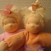 Куклы и игрушки ручной работы. Ярмарка Мастеров - ручная работа Вальдорфские куколки-малышки. Handmade.
