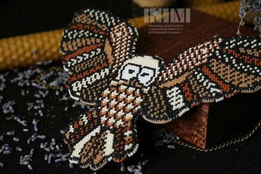 Колье, бусы ручной работы. Ярмарка Мастеров - ручная работа. Купить Колье Tribal owl. Handmade. Сова, украшение