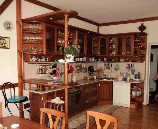 Мебель ручной работы. Ярмарка Мастеров - ручная работа. Купить Кухня из массива. Handmade. Кухня на заказ, Мебель, кедр, Дуб
