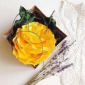 """Украшения ручной работы. Ярмарка Мастеров - ручная работа """"Солнечный цветок"""". Handmade."""