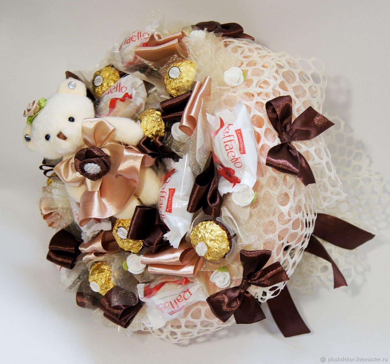 Заказ и доставка букетов из конфет москва, доставку цветов