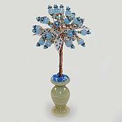 Цветы и флористика handmade. Livemaster - original item composition: Topaz Tree