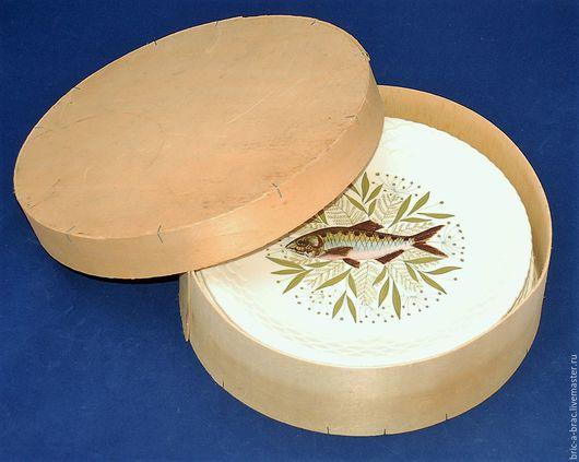 Винтажная посуда. Ярмарка Мастеров - ручная работа. Купить Набор рыбных тарелок! Фарфор Франция! Gien Annecy. Handmade.