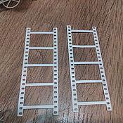 Материалы для творчества handmade. Livemaster - original item !Cutting scrapbooking Film frames, cardboard design. Handmade.