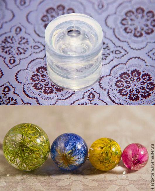 Другие виды рукоделия ручной работы. Ярмарка Мастеров - ручная работа. Купить Молд шар для смолы из прозрачного силикон (разные диаметры в описании). Handmade.