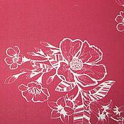 Материалы для творчества ручной работы. Ярмарка Мастеров - ручная работа Хлопковая ткань для творчества.. Handmade.
