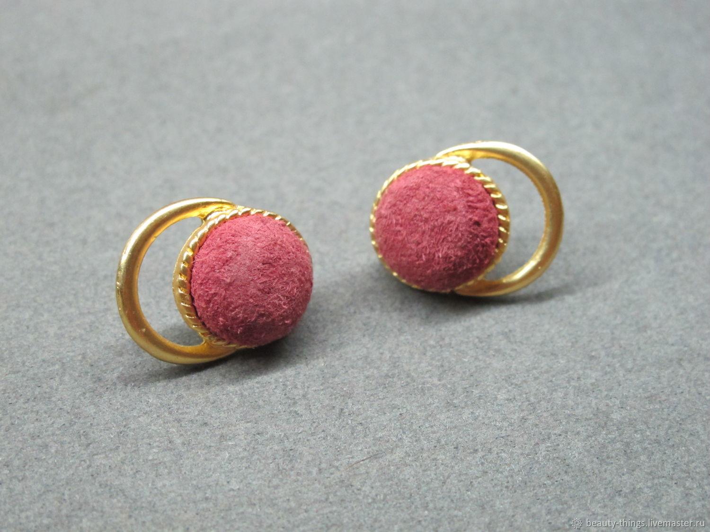 Vintage Jewelry Livemaster Handmade Unusual Earrings